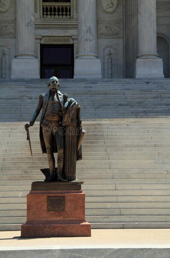 George Washington Memorial arkivbild