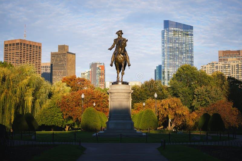 George Washington monument stock images