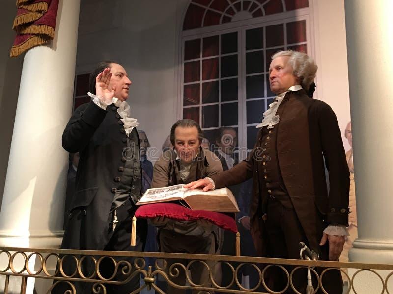 George Washington Mount Vernon stock foto