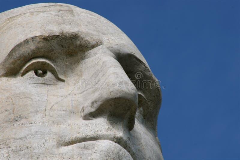 George Washington op Onderstel Rushmore royalty-vrije stock foto's