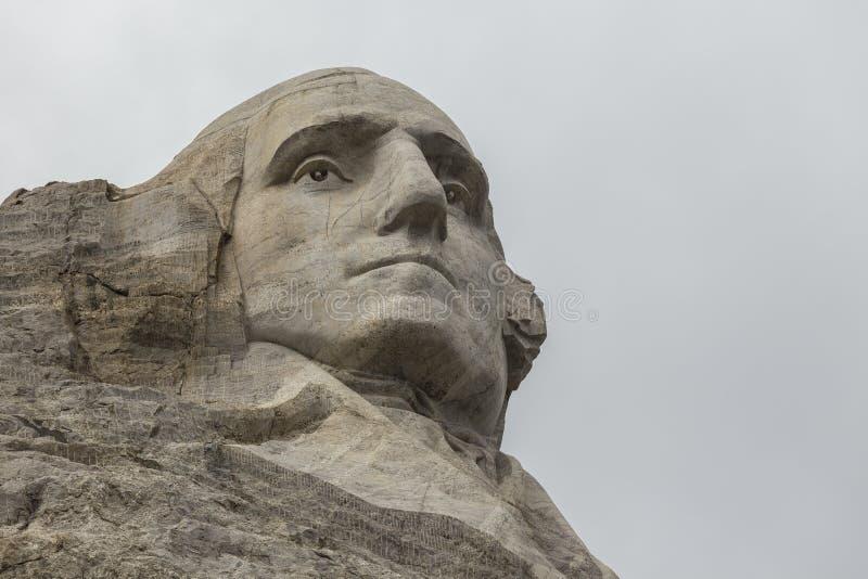 George Washington op Onderstel Rushmore royalty-vrije stock foto