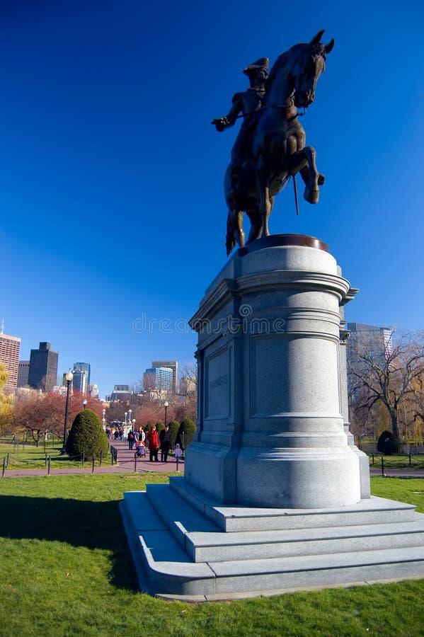 george Washington posąg fotografia stock