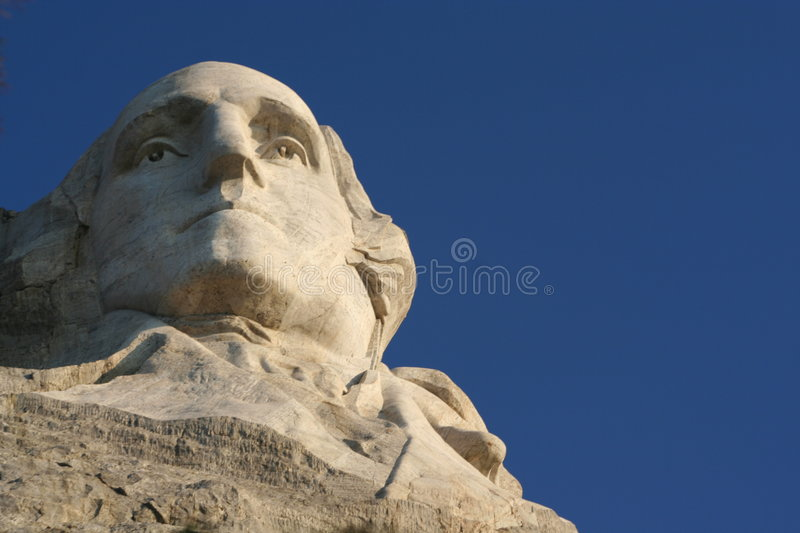 George Washington A Rushmore Fotografia Stock