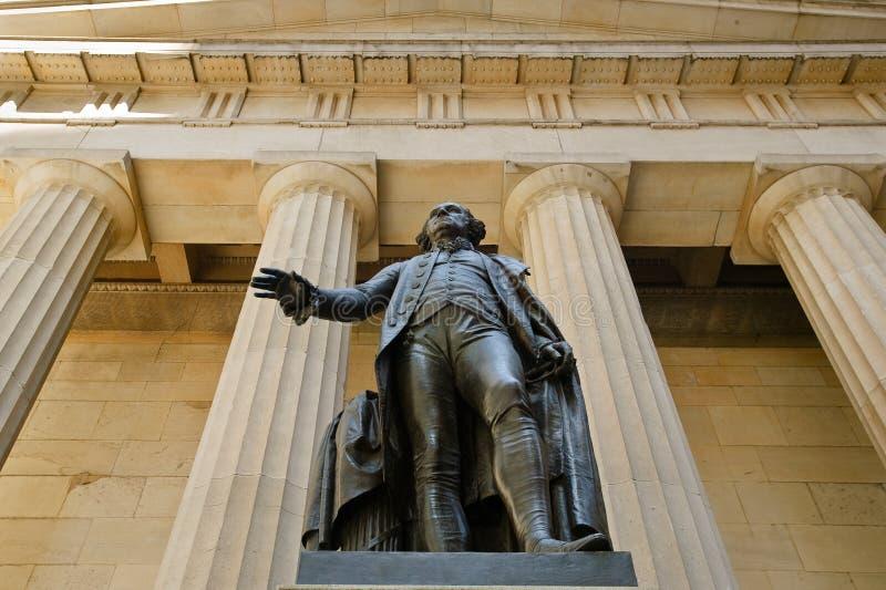 Download George Washington Statue & Federal Hall National M Stock Image - Image: 36402749