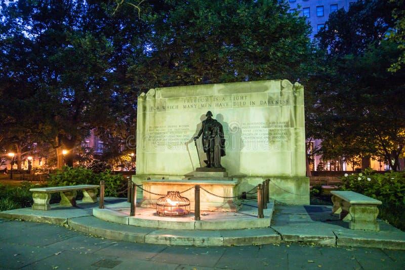 George Washington Statue Philadelphia PA lizenzfreie stockfotografie