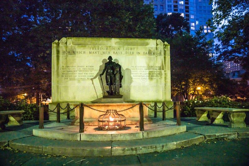 George Washington Statue Philadelphia PA lizenzfreies stockfoto
