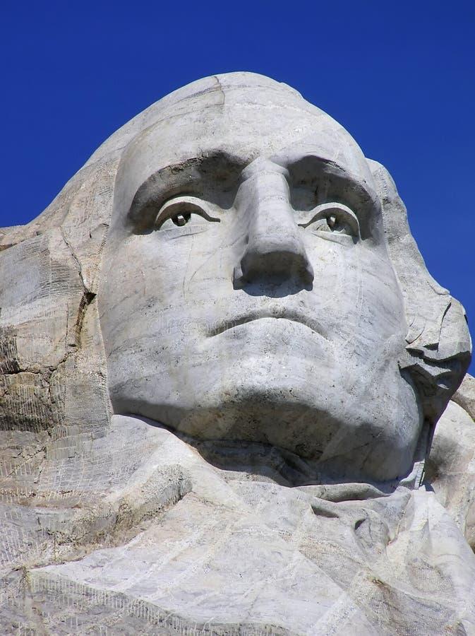 George Washington stellen beim Mount Rushmore, South Dakota, USA gegenüber stockfoto