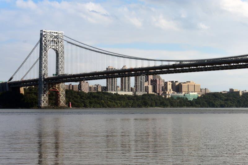 George Washington Suspension Bridge -2 royalty-vrije stock foto's