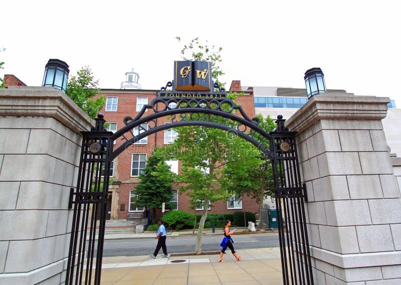 George Washington University royalty free stock images