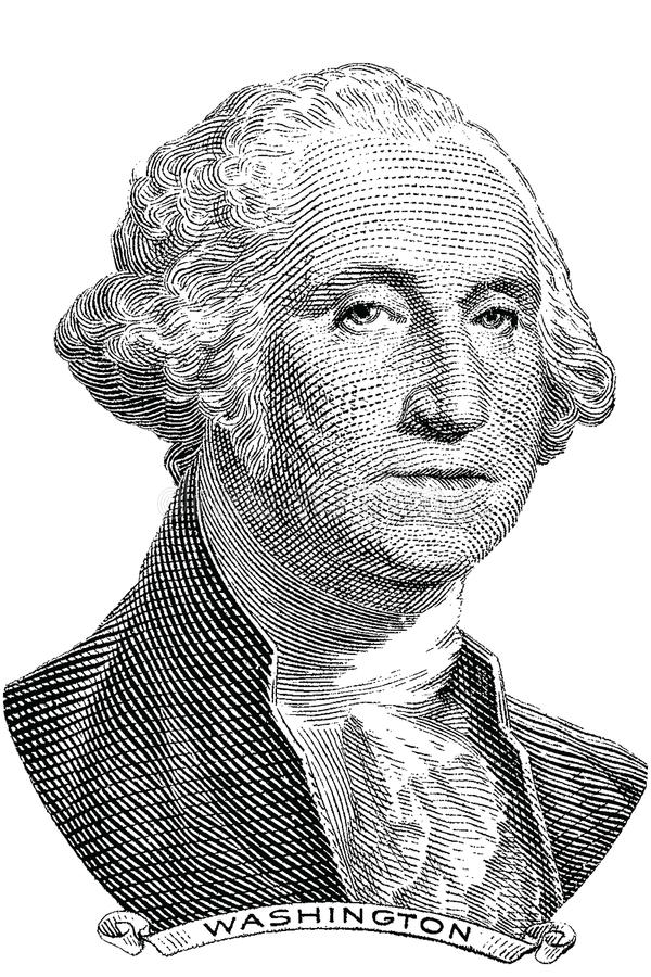 George Washington (vecteur) illustration libre de droits