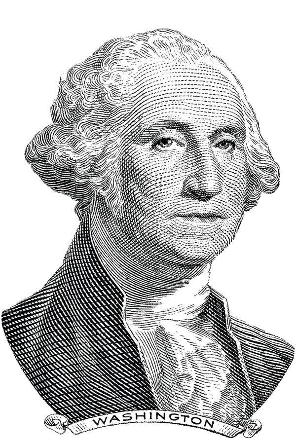George Washington (vettore) royalty illustrazione gratis