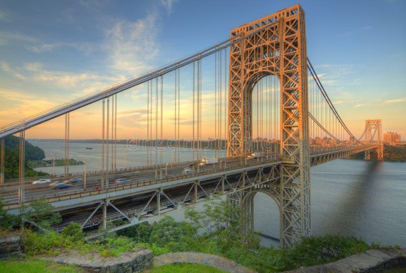 George- Washingtonbrücke lizenzfreie stockfotografie
