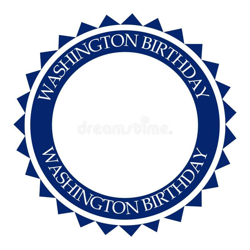 George- Washingtongeburtstag stock abbildung