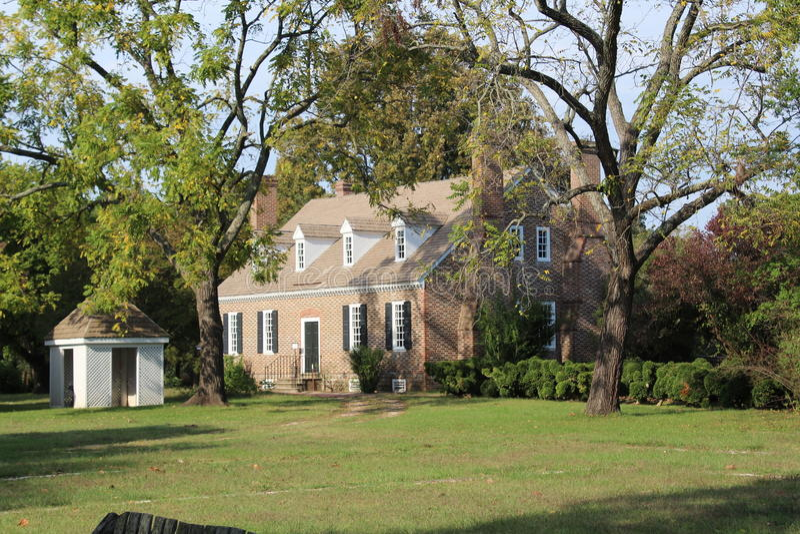 George Washingtons Geburtsort stockfotografie