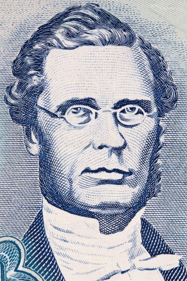 George William Gordon stående arkivfoton