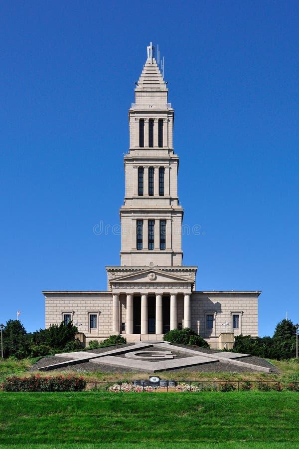 george wolnomularski pamiątkowy krajowy Washington obraz royalty free
