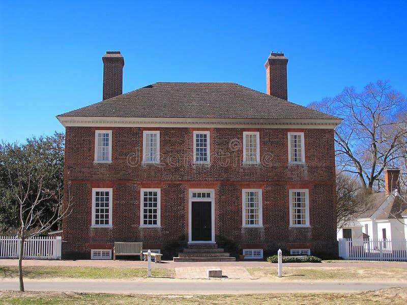 George Wythe House royalty-vrije stock fotografie