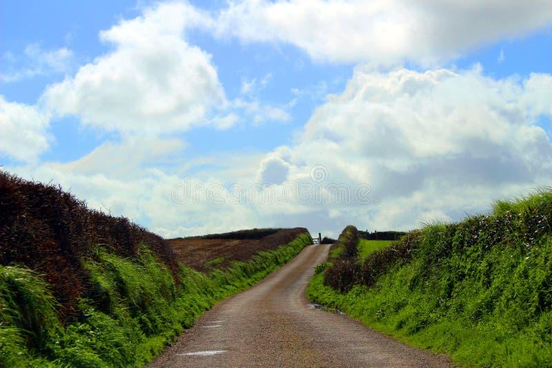 Georgeham, Devon, Engeland stock fotografie