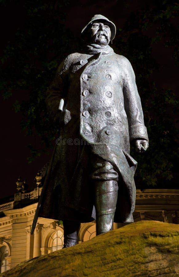 Georges Clemenceau Statue à Paris photos libres de droits