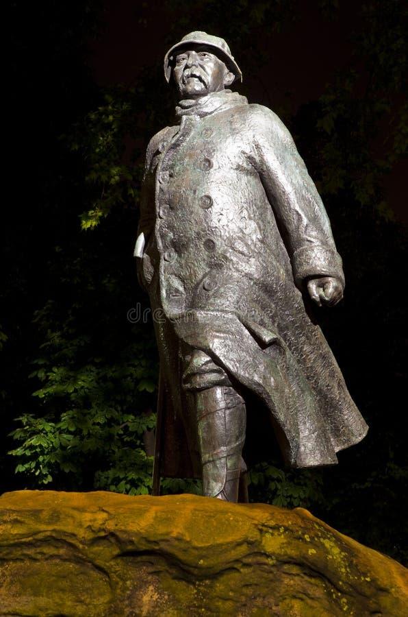 Georges Clemenceau Statue a Parigi fotografia stock