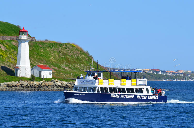 Georges Island Lighthouse foto de archivo libre de regalías