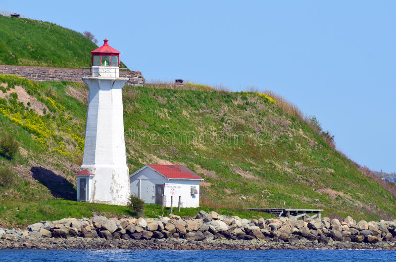 Georges Island Lighthouse imagen de archivo