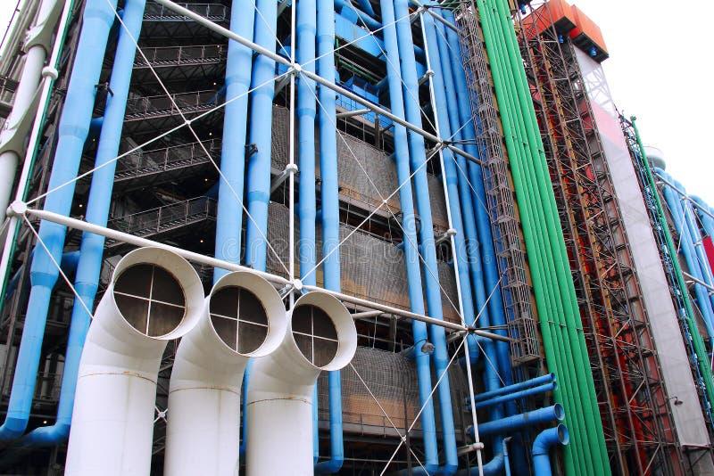 Georges Pompidou中心 库存照片