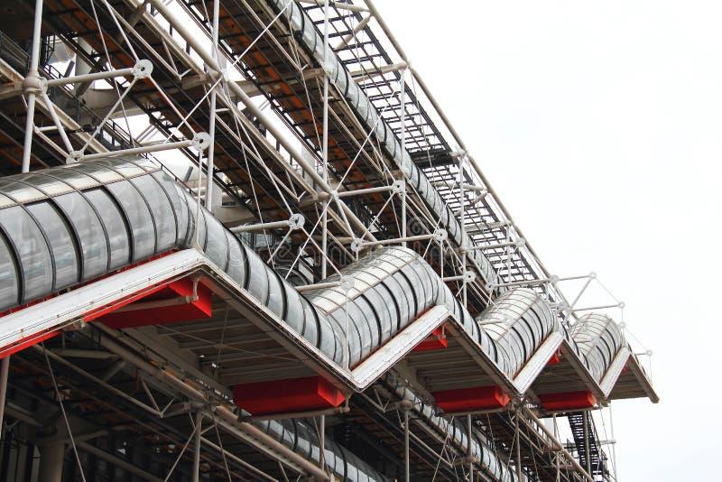Georges Pompidou中心 免版税库存照片