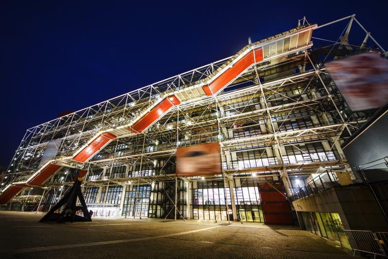 Georges Pompidou-centrum royalty-vrije stock fotografie