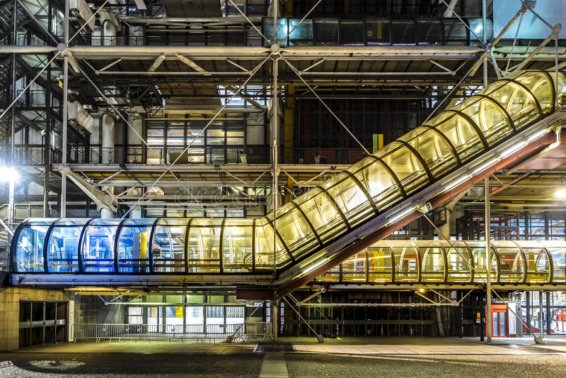 Georges Pompidou-Mitte stockfoto