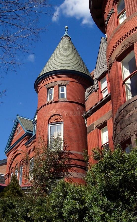 Download Georgetown-Architektur stockbild. Bild von georgetown, gebäude - 36221