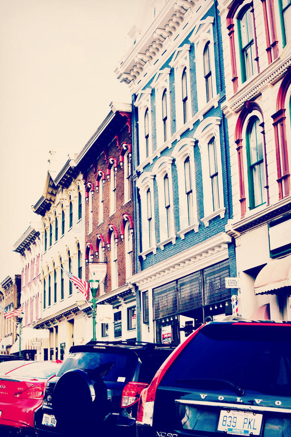 Georgetown do centro, Kentucky imagens de stock