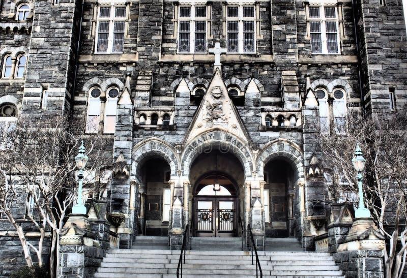 Georgetown Healy Hall fotos de stock royalty free