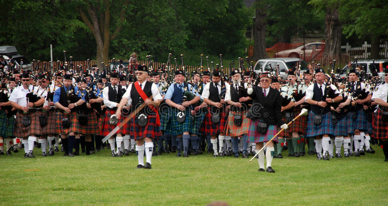Download Georgetown Highland Games Massed Bands Editorial Stock Image - Image: 19872924