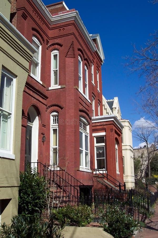 Georgetown historique image libre de droits