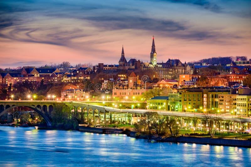 Georgetown horisont arkivfoto