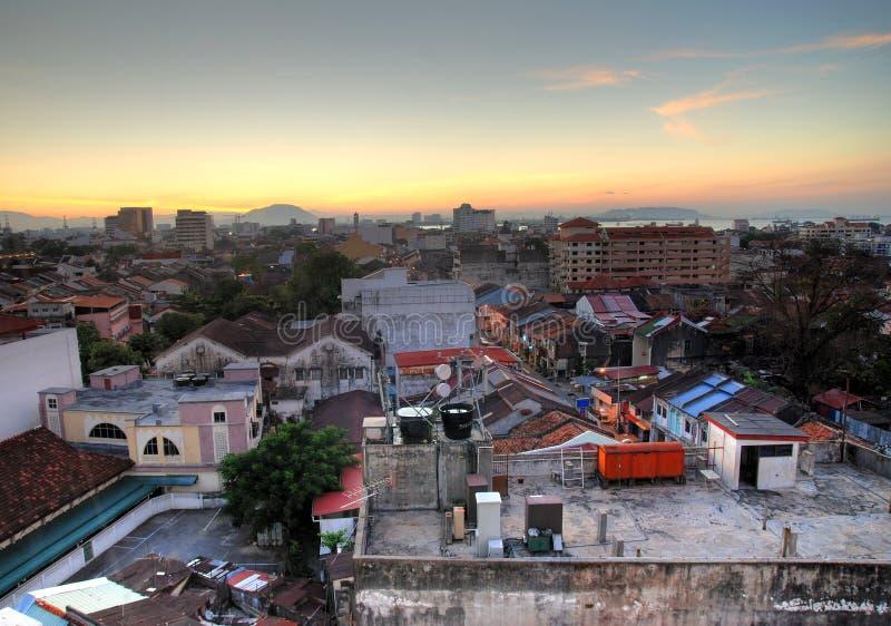Georgetown, Malasia fotografía de archivo