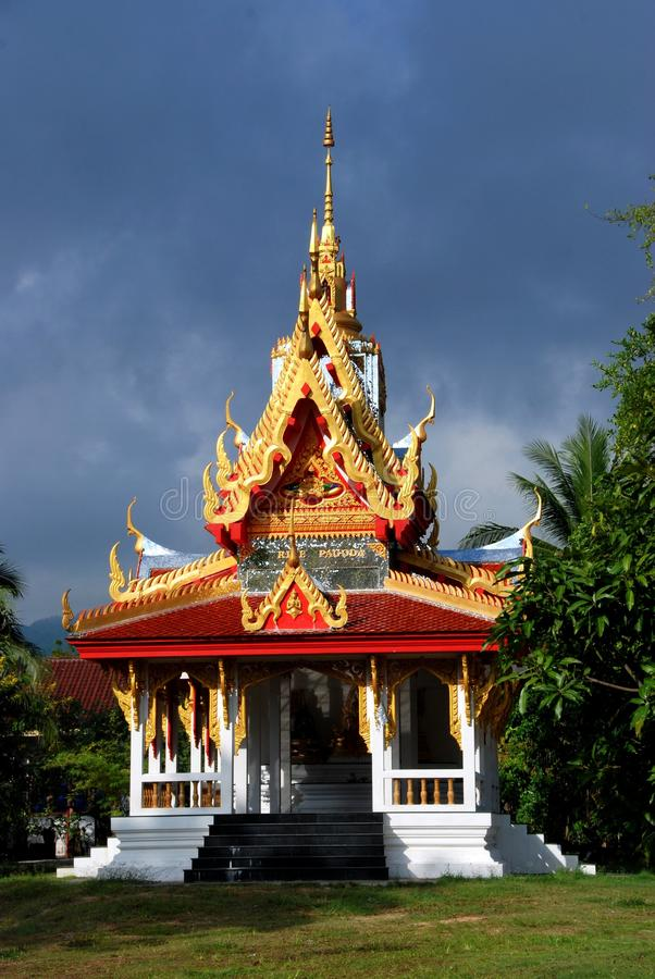 Georgetown, Malaysia: Thai Temple stock photography