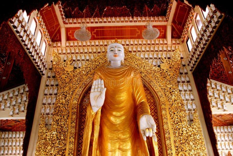 Georgetown, Malesia: Grande Buddha Corridoio fotografia stock