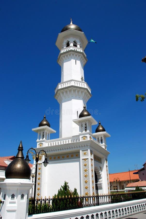 Georgetown, Malesia: Moschea di Kapitane del minareto fotografie stock