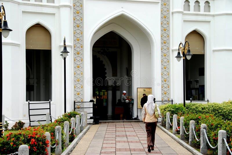 Georgetown, Malesia: Moschea di Kapitane Keling immagine stock libera da diritti