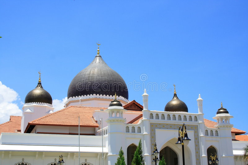 georgetown moské arkivbild