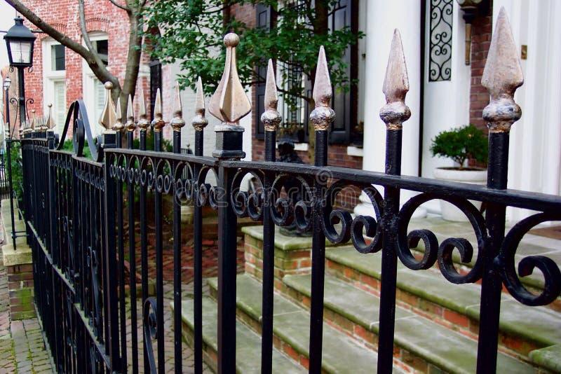 Georgetown płotu zdjęcie royalty free