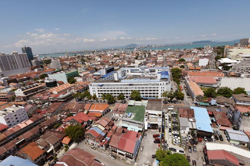 Georgetown Penang stockfoto