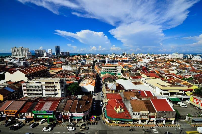 Georgetown Penang Malasia foto de archivo