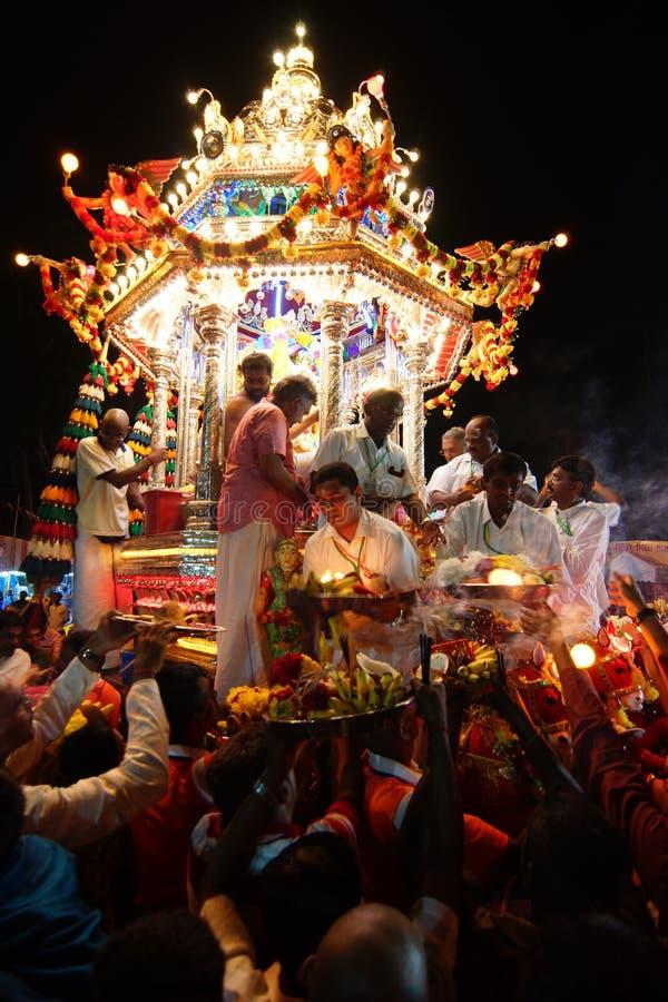 "GEORGETOWN PENANG-/MALAYSIA†""CIRCA JANUARI 2016: Hinduisk fantastful arkivbild"