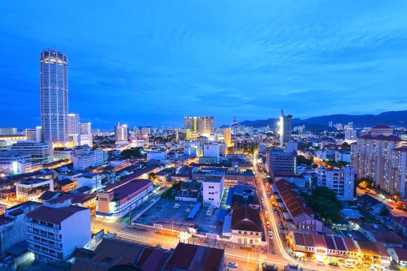 Georgetown Penang Malaysia arkivbild