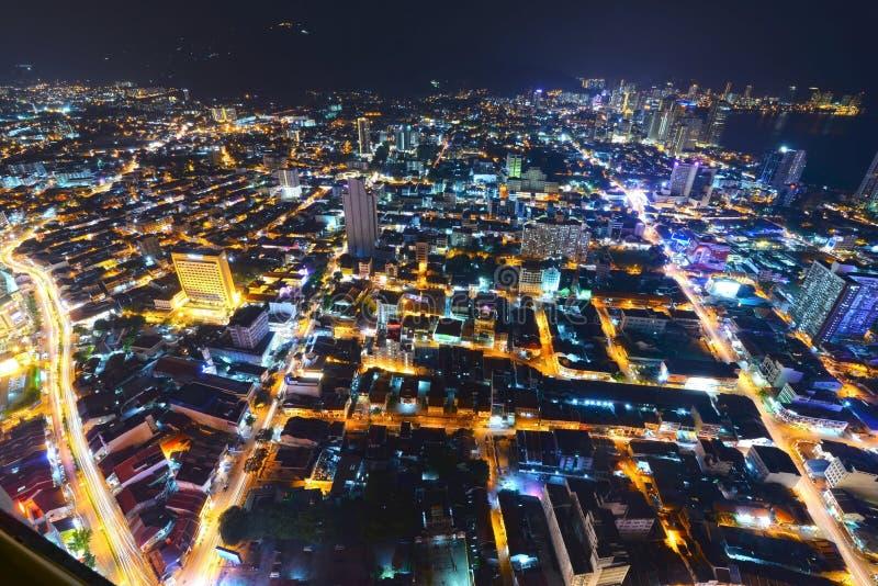 Georgetown Penang Malaysia royaltyfria foton