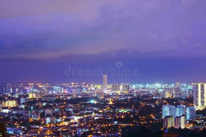 Georgetown Penang Malaysia royaltyfria bilder