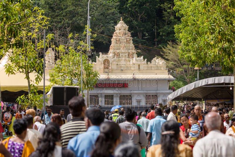 Georgetown Penang, Malaysia - Februari 9, 2017: Hinduisk fantast royaltyfria foton